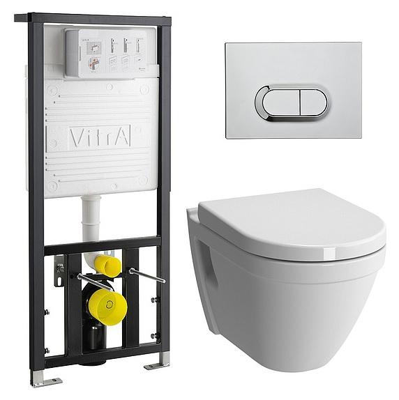 Инсталляция с унитазом VitrA S50 9003B003-7201