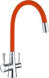 Смеситель для кухни Lemark Comfort LM3075C-Orange