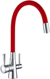 Смеситель для кухни Lemark Comfort LM3075C-Red