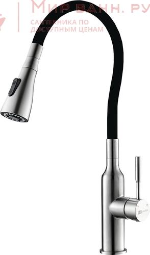 Смеситель для кухни Lemark Expert LM5082S-Black
