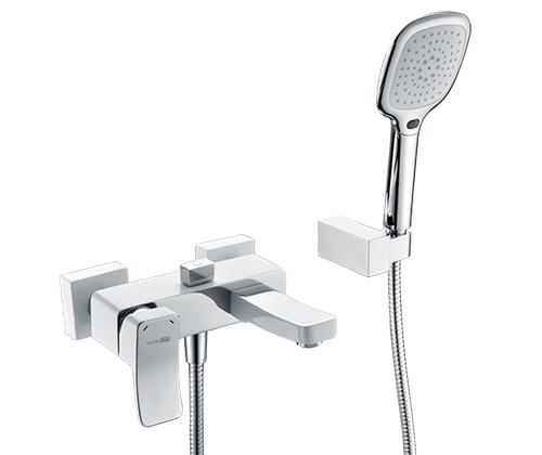 Смеситель для ванны Wasserkraft Aller 1061WHITE