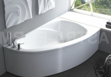 Мраморная ванна Астра-Форм Тиора 155х105 правая
