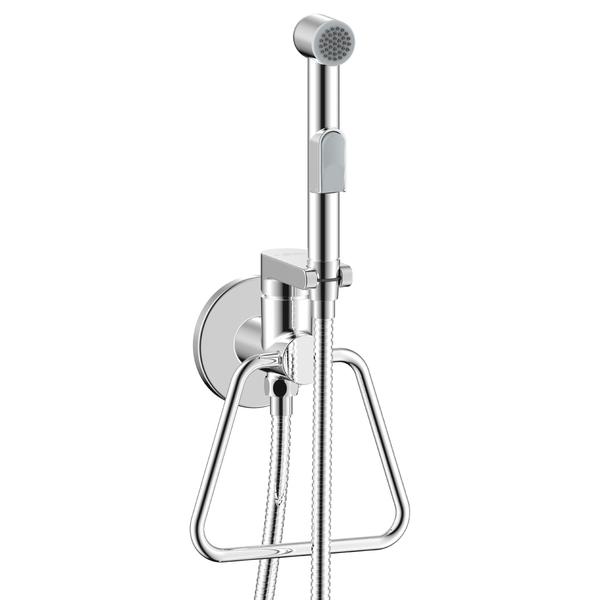 Смеситель с гигиеническим душем Rossinka X25-55
