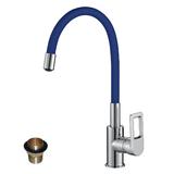 Смеситель для кухни Rossinka Z35-35U-Blue