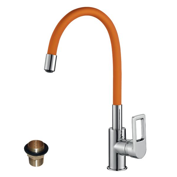 Смеситель для кухни Rossinka Z35-35U-Orange