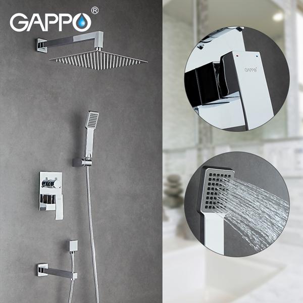 Смеситель для душа Gappo Jacob G7102