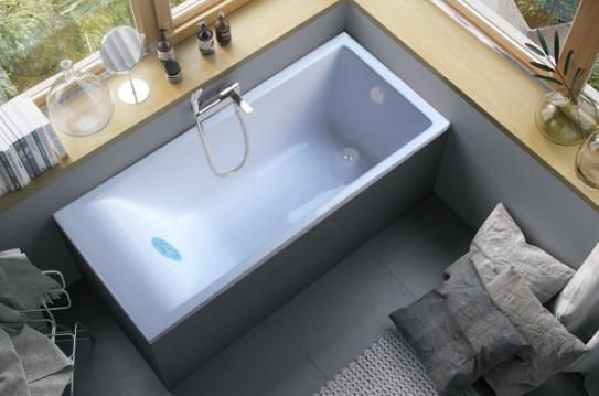 Мраморная ванна Marmo Bagno Алесса 170х75