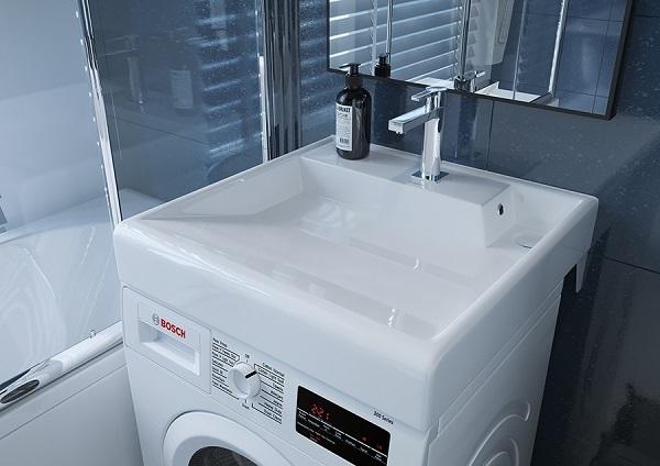 Раковина над стиральной машиной Kirovit Престиж