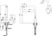 Полотенцесушитель водяной Сунержа Сирокко 1600х500