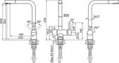 Полотенцесушитель водяной Сунержа Фурор 800х900