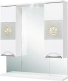 Зеркало-шкаф Onika Флорена 78.01 белый