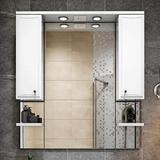 Зеркало-шкаф Монако Классика 105