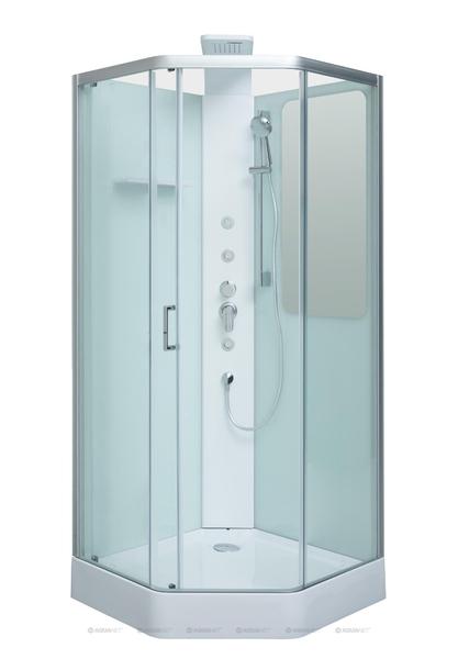 Душевая кабина Aquanet Passion P 90x90 прозрачное стекло