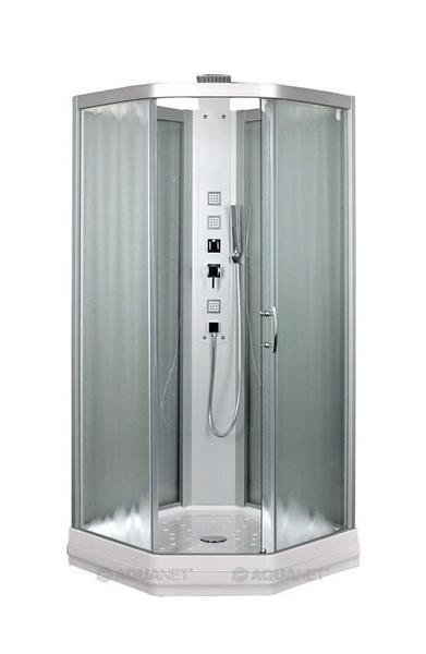 Душевая кабина Aquanet Penta 2 Rain 90.5x90.5 узорчатое стекло