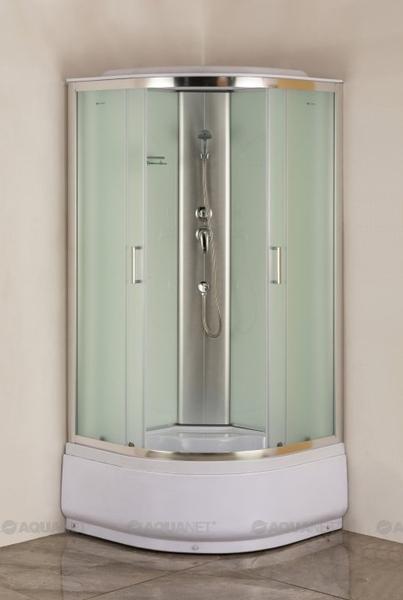 Душевая кабина Aquanet SC-1000Q 100x100 рифленое стекло