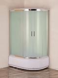 Душевая кабина Aquanet SC-1200Q-L 120x80 рифленое стекло