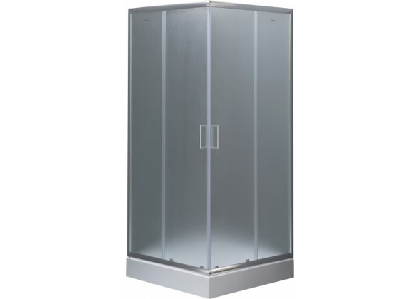 Душевой уголок Aquanet SE-800S 80x80 узорчатое стекло