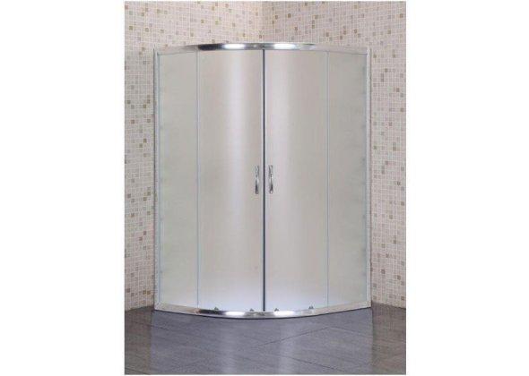 Душевой уголок Aquanet SE-900Q-Short 90x90 узорчатое стекло