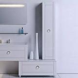 Шкаф-пенал Aqwella 5 stars Инфинити П35 подвесной белый