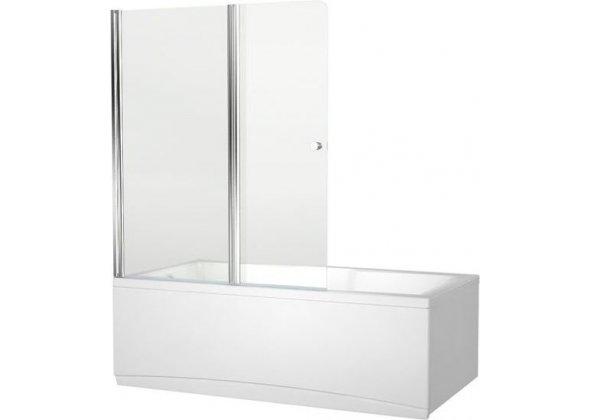 Шторка на ванну Aquanet Alfa 4 NF6222-pivot прозрачное стекло