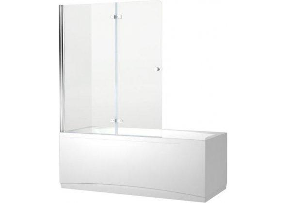 Шторка на ванну Aquanet Beta 4 NF6222-hinge прозрачное стекло